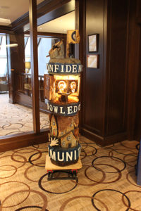 The Totem presented to Momentum at the Calgary Petroleum Club